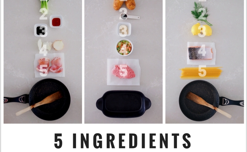 EASY RECIPE // COOKING WITH 5 INGREDIENTS ONLY