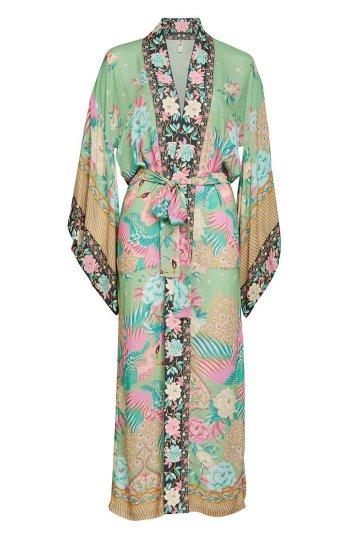 cloud dancer maxi kimono