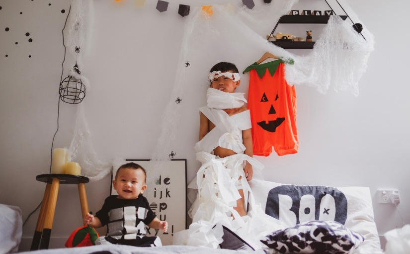 8 LAST MINUTE IDEAS FOR KIDS HALLOWEEN COSTUME