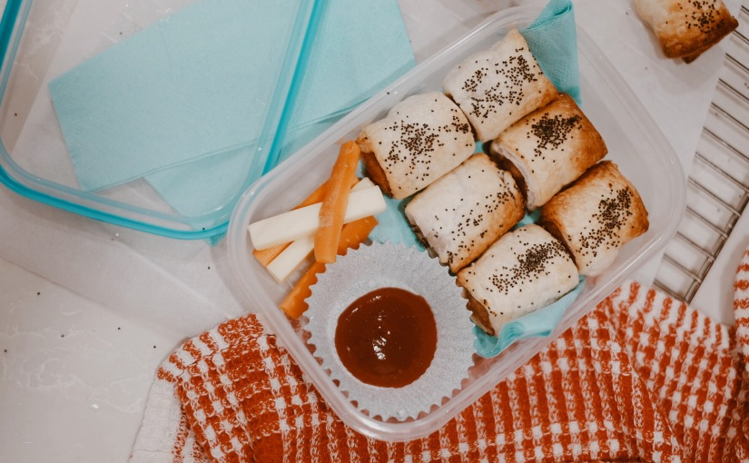 LUNCHBOX IDEA – SAUSAGE ROLLS HACK